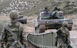 El Dornier también soporta el paso del Leopard