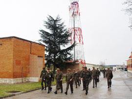 El Jefe de Estado Mayor del Ejército visita el Regimiento de Transmisiones nº 22