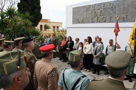 Al acto asistieron autoridades civiles y militares de Ceuta