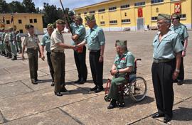 El comandante general asisitió al encuentro de legionarios