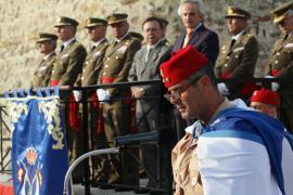 El coronel Faura pronunció un discurso