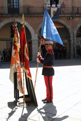 Banderas y Enseñas que participaron en el acto