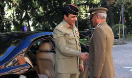 Llegada del JEME pakistaní al Cuartel General