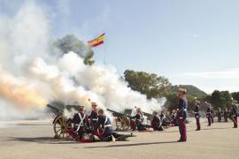 Las unidades del MAAA homenajearon a Santa Bárbara (Foto:MAAA)