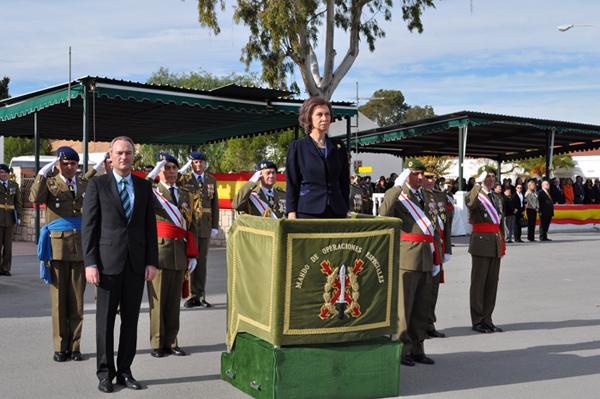 La Reina Doña Sofía ha presidido la ceremonia