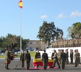 Imposición de la Cruz del Mérito Militar