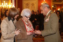 El General de Ejército JEME entregó las condecoraciones