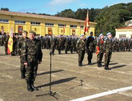 El teniente general Medina presidió la ceremonia
