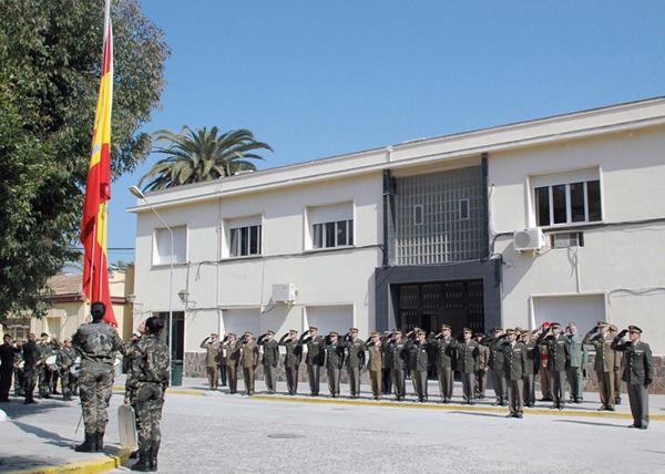Último arriado de la Bandera Nacional