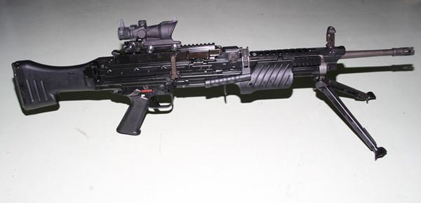 Ametralladora ligera MG-4E