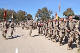 Jura de Bandera en el CEFOT nº 1 de Cáceres