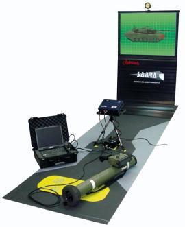El simulador SAARA es totalmente portátil (Foto:Instalaza)