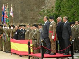 Presidencia del acto celebrado en la ciudad pacense