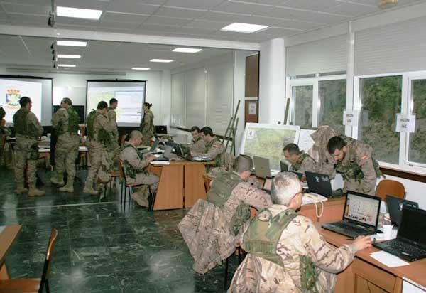 El ejercicio se ha realizado en la base 'General Morillo'