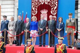 Presidencia de la celebración en Madrid