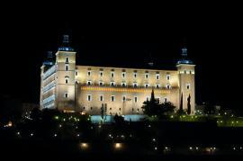 El alcázar de Toledo es la sede del Museo del Ejército