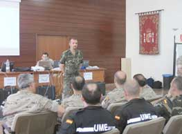 El Regimiento NBQ aportó la célula de defensa principal
