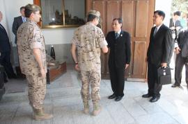 Recepción a la delegación tailandesa