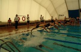 Prueba de natación