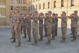 Formación en la Academia General Militar