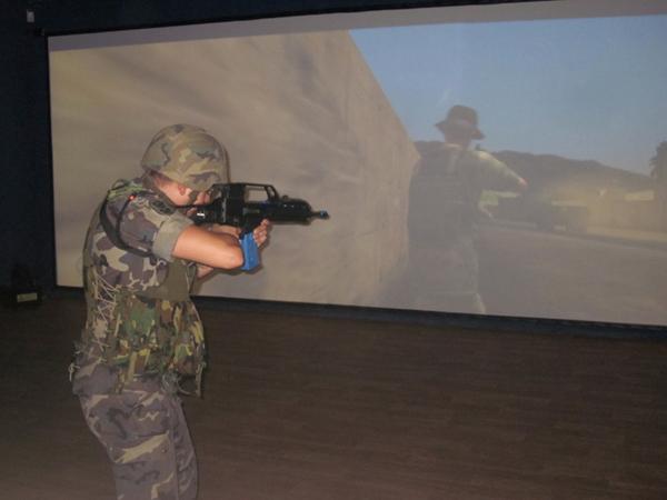 Práctica en la nueva sala-simulador Victrix
