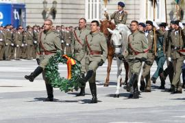 Homenaje a los que dieron su vida por España