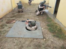 Ejercicio de adiestramiento de combate en ZZUU