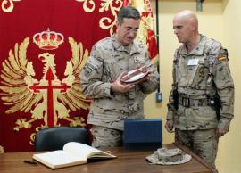 El JEME con el comandante general de Ceuta
