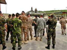 Al CENAD acudieron militares de varios ejércitos