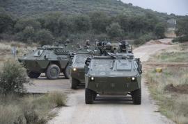 Un convoy se dirige hacia una de las incidencias