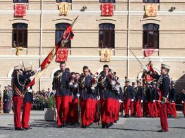 Jura de Bandera en la Academia General Militar