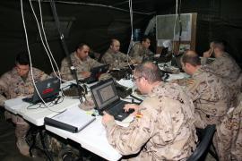 Desarrollo del ejercicio en el Cuartel General de FUL
