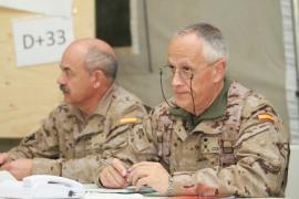 Los generales Abajo y Corres en el ejercicio