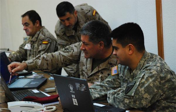 En el ejercicio han participado militares de EEUU