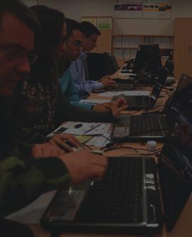 Participantes en los ejercicios de ciberdefensa militar