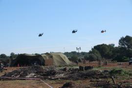 El ejercicio se ha desarrollado en Bétera (Valencia)