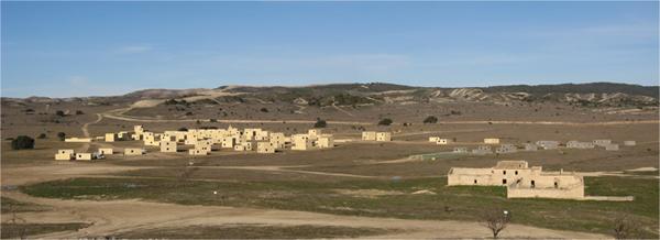 Polígono de combate en ZZUU de San Gregorio