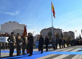 Jura de Bandera en Almendralejo