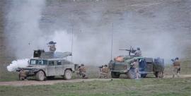 Ejercicio de fuego real (Contraemboscada)