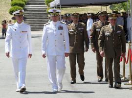 JEMAD, almirante Clingan y jefe del HQ