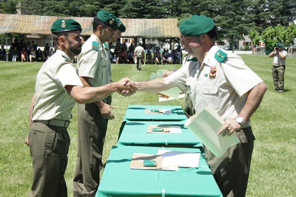 Ceremonia de entrega de diplomas a los alumnos
