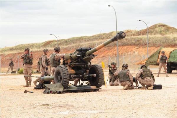Instruirán a los mandos de una Batería maliense