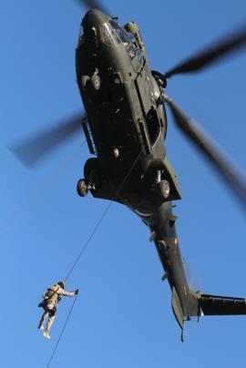 El BHELMA IV colaboró con sus helicópteros