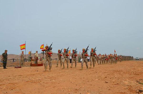 Participó el Regimiento de Infantería 'Soria' nº 9