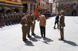 Jura de Bandera en Astorga (León)