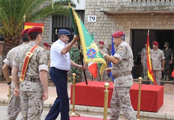El general Breedlove en la visita a Bétera (Foto:CGTAD)