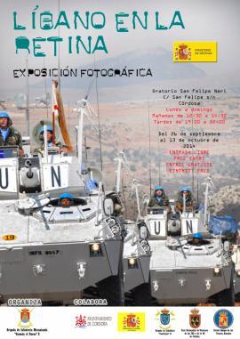 Cartel promocional de la exposición en Córdoba