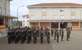 Formación del Grupo de Caballería en Bótoa