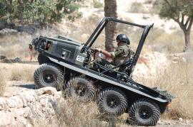El vehículo supera escalones de hasta 70 cm