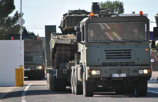 Transporte a Portugal en vehículo de la Agrupación